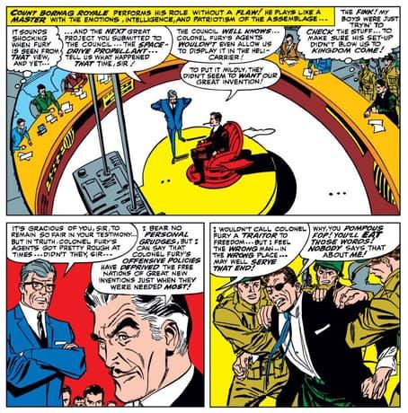 Diventare pubblico in STRANGE TALES (1951) # 148.