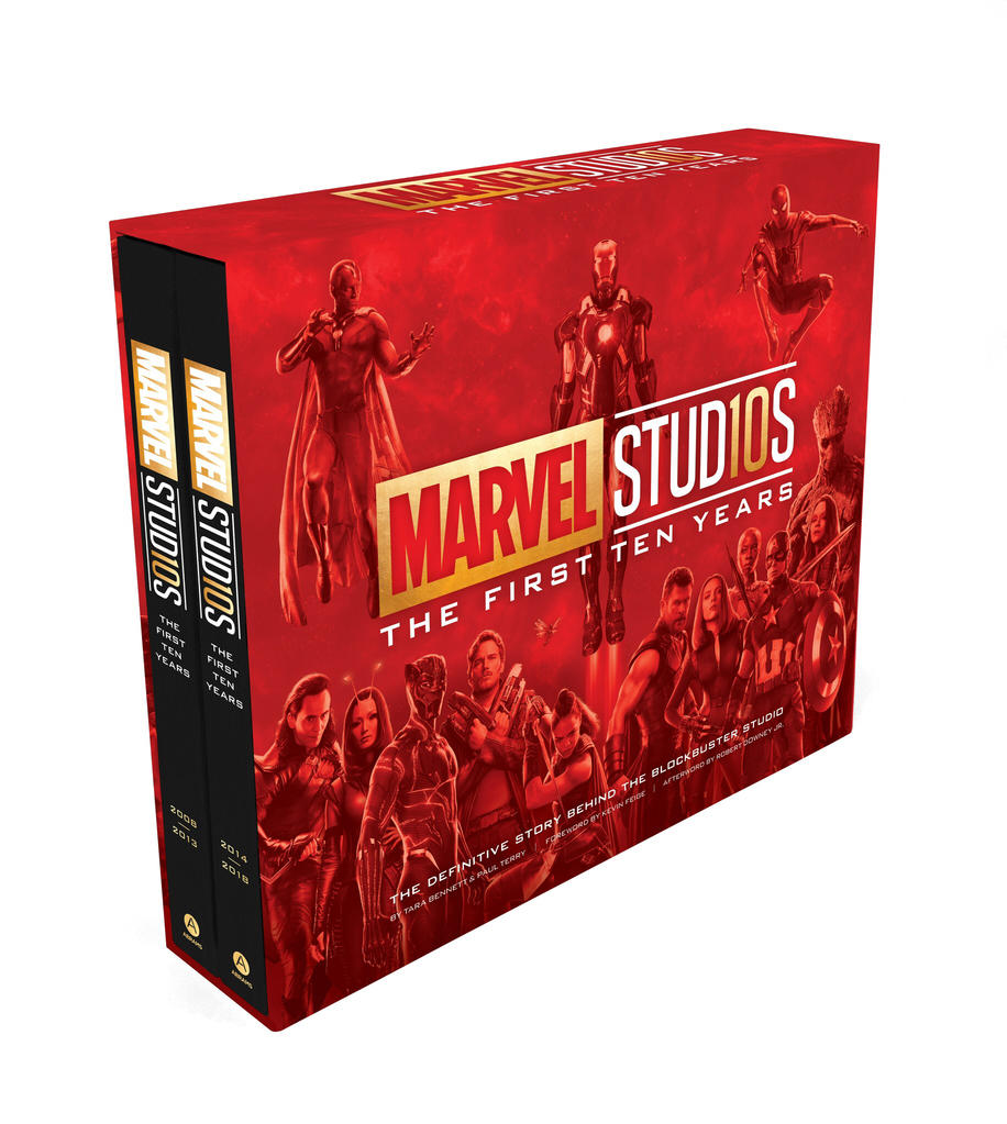 Marvel Studios: The First Ten Years Book