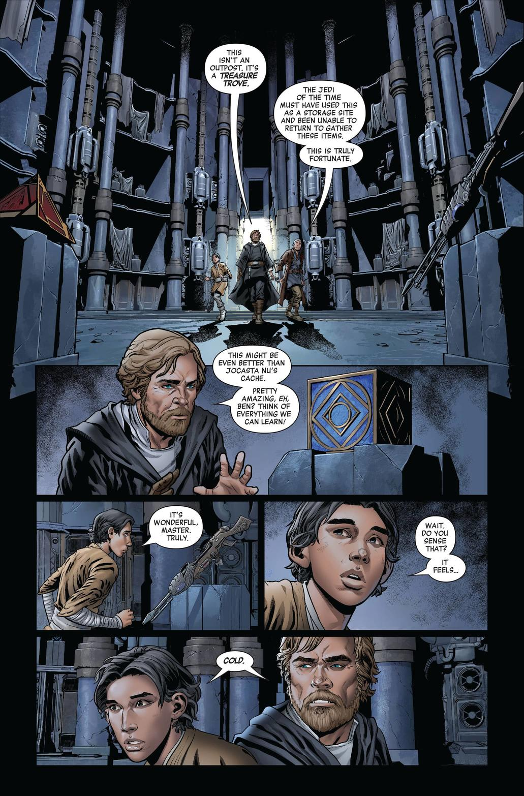 STAR WARS: THE RISE OF KYLO REN #2 art by Will Sliney with colors by Guru-eFX