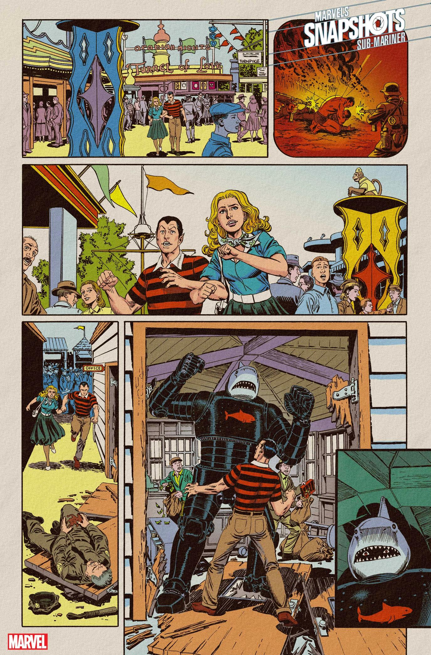 Sub-Mariner: Marvels Snapshot
