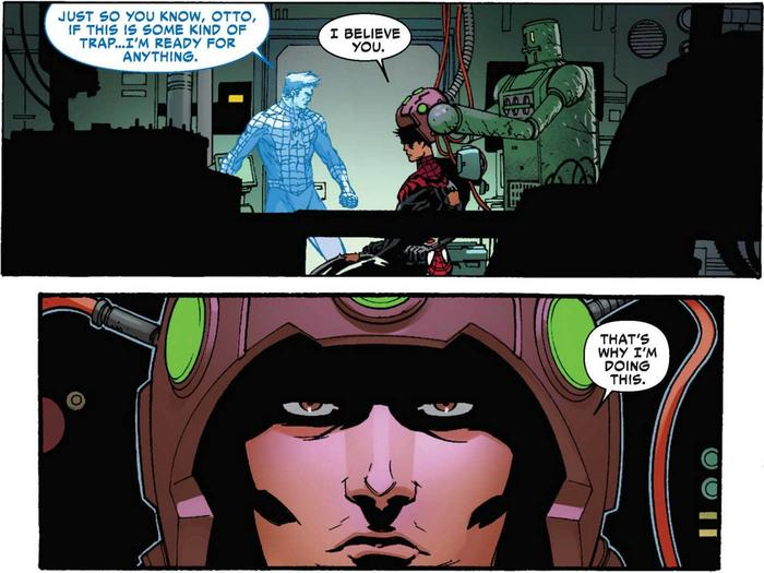 Superior Spider-Man switches back