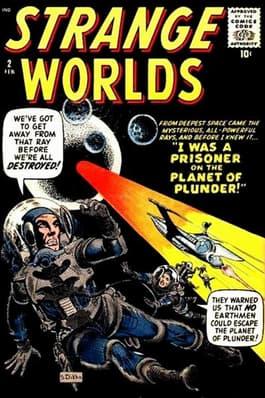 STRANGE WORLDS #2 (1959)