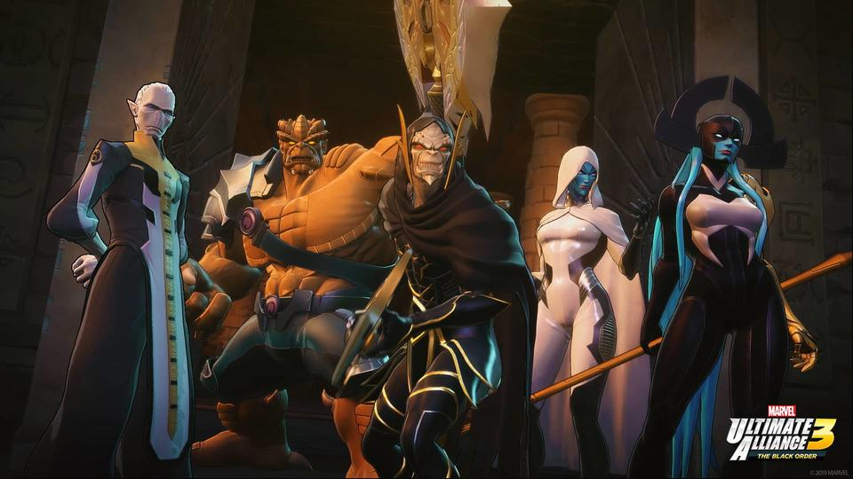 MARVEL ULTIMATE ALLIANCE 3: The Black Order': An Interview
