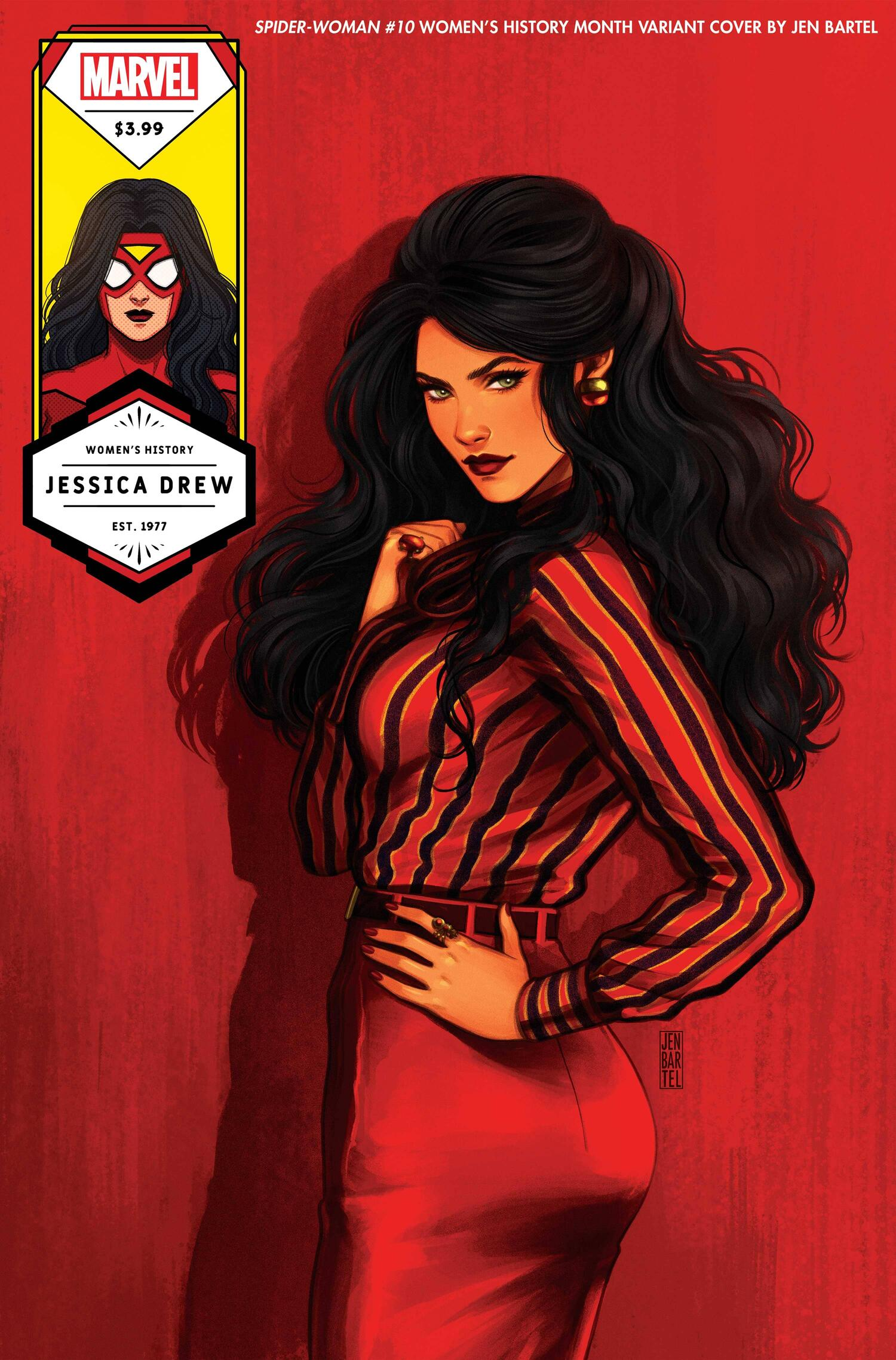 Spider-Woman Women's History Month Variant Cover
