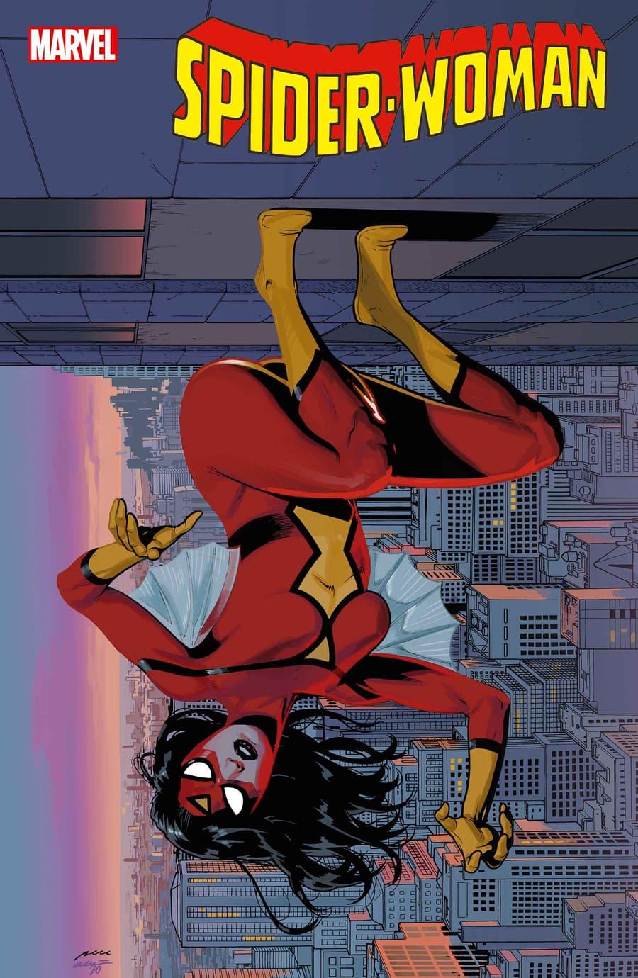 SPIDER-WOMAN#11 variant cover by Pere Pèrez