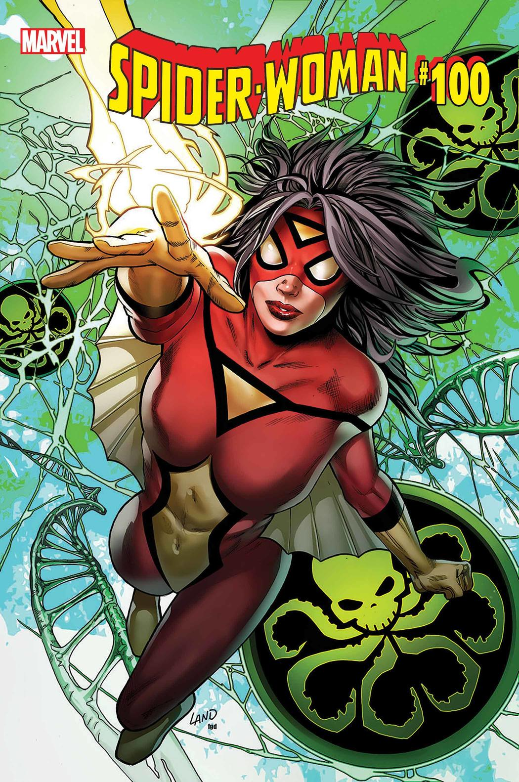 Spider-Woman #100 cover