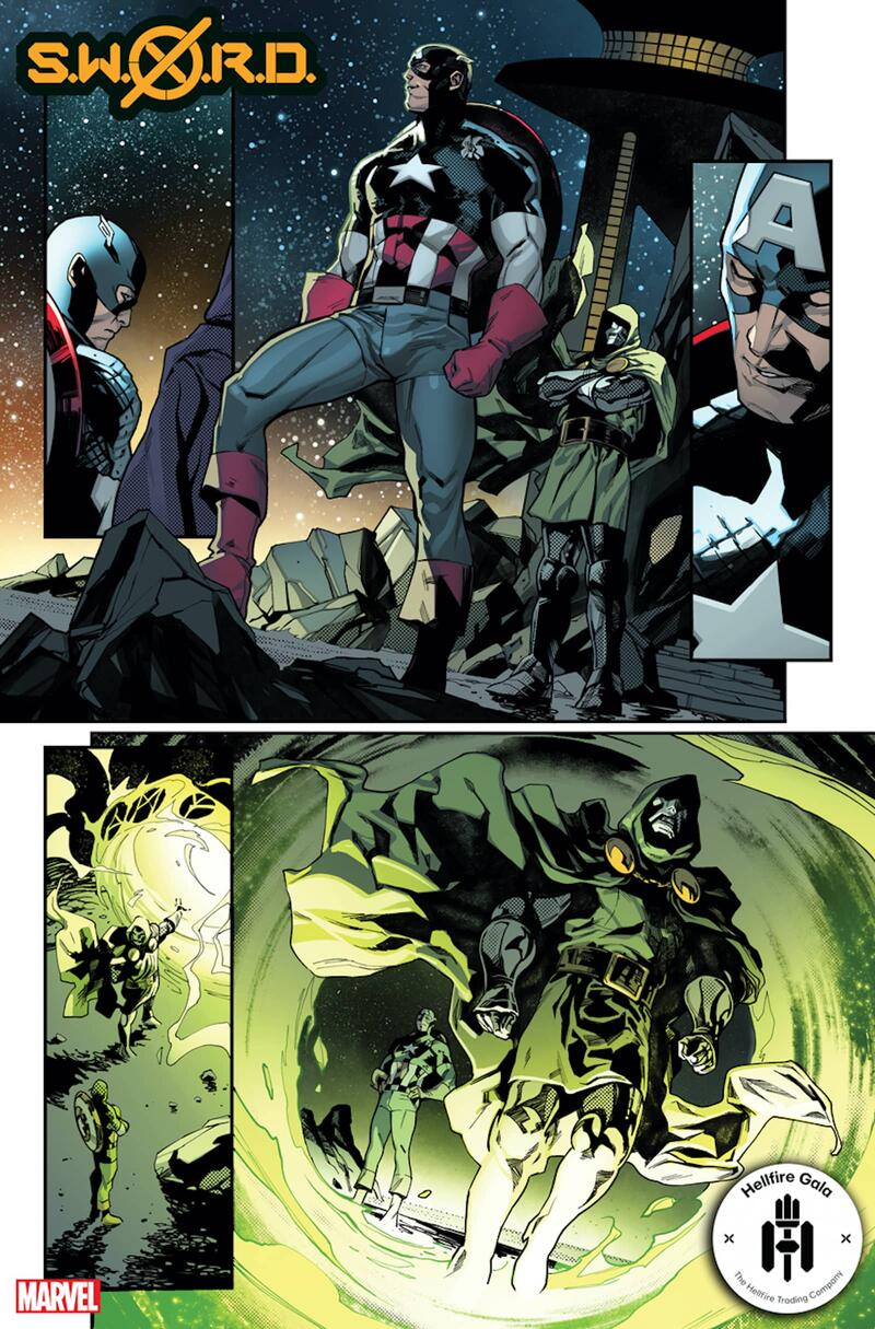 S.W.O.R.D. #6 preview art by Valerio Schiti with colors by Marte Gracia