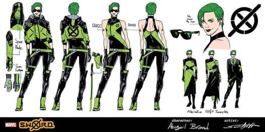 SWORD concept art Abigail Brand