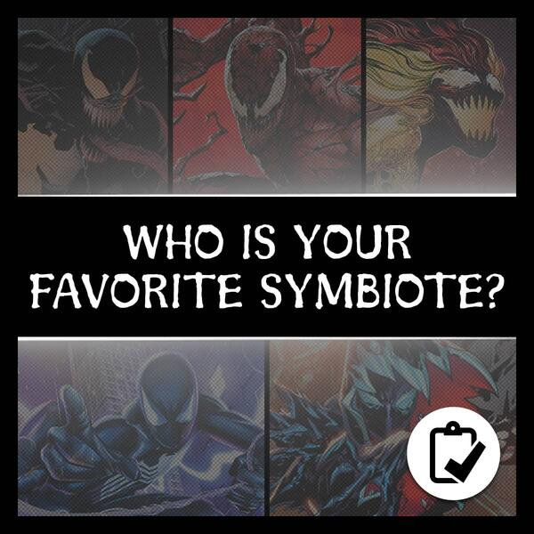 Marvel Insider WHO IS YOUR FAVORITE SYMBIOTE? Take the survey and pick your favorite symbiote in the Marvel Universe