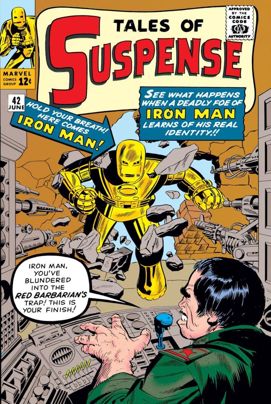 Gold Iron Man Suit