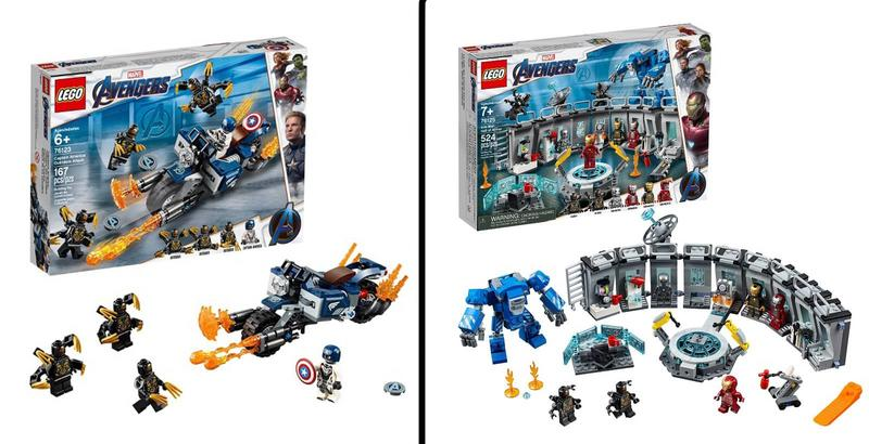 Target Avengers Endgame LEGOs