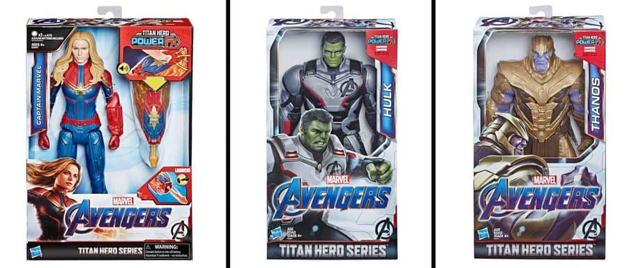 Target Avengers Endgame Titan figures