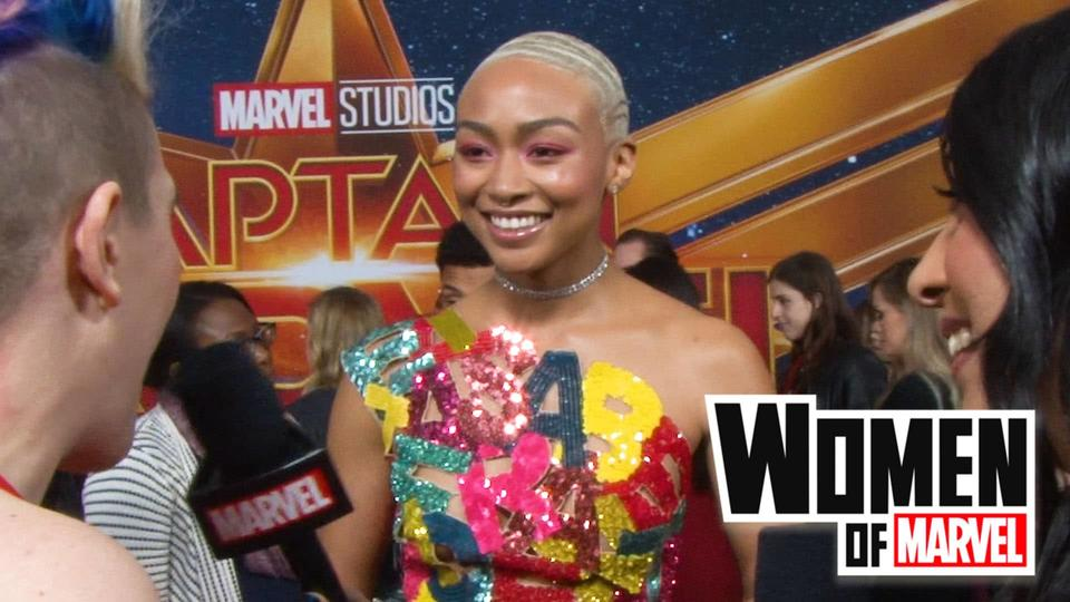 Tati Gabrielle on Women of Marvel