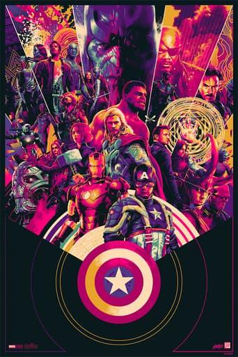 Mondo's MCU 10th Anniversary poster by Matt Taylor