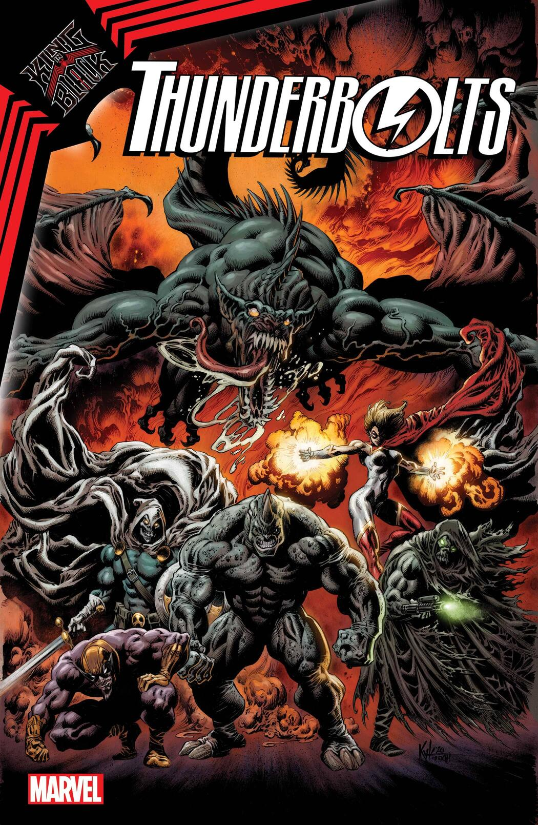 KING IN BLACK: THUNDERBOLTS (2021) #1