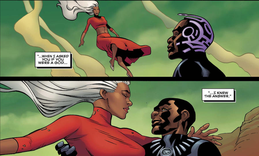 T'Challa and Storm