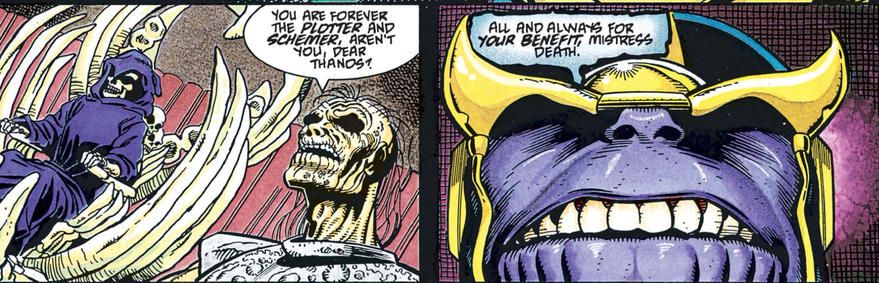 Thanos loves Death