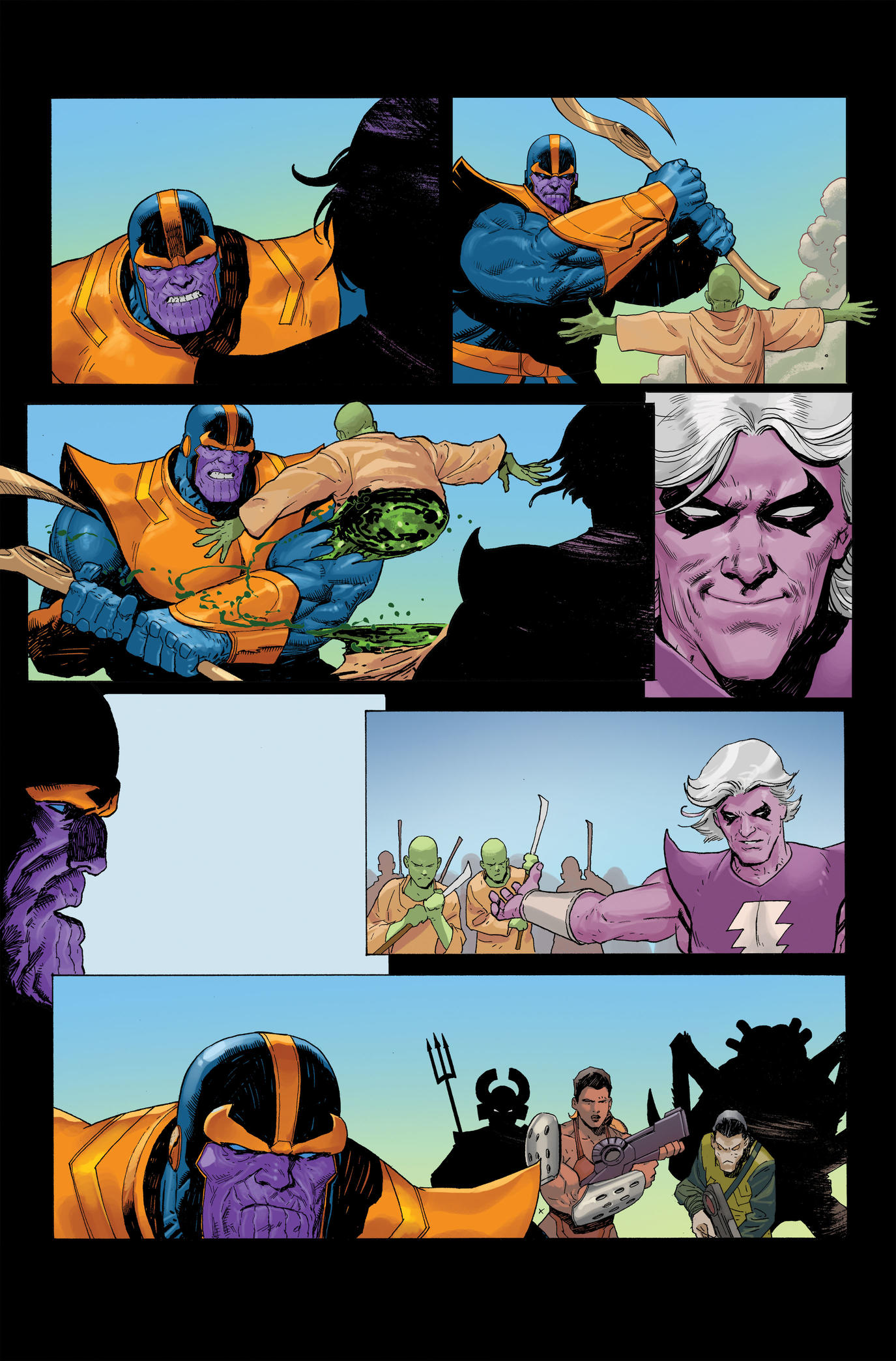 Page from Thanos #1