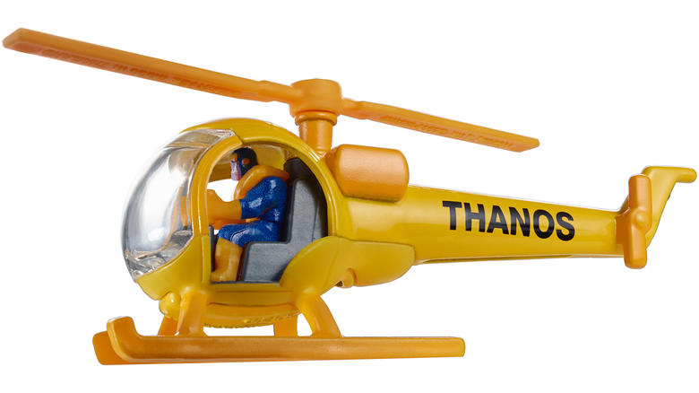 Mattel's Hot Wheels Thanos Copter Flies into San Diego Comic-Con