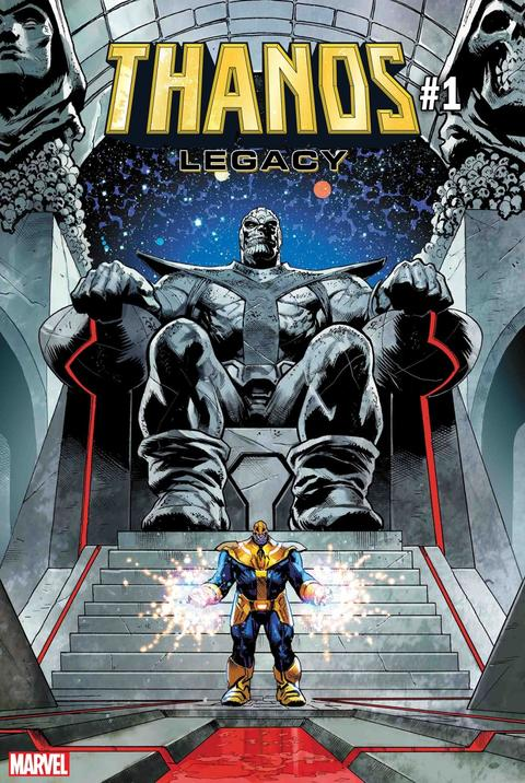Donny Cates Continues his Mad Titan Tale with Thanos Legacy | News