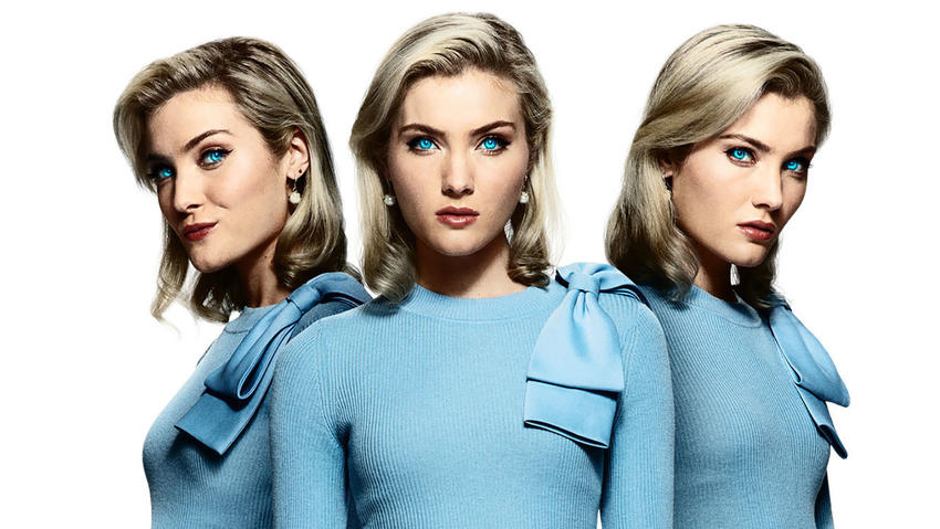 Skyler Samuels as the Frost Sisters in The Gifted