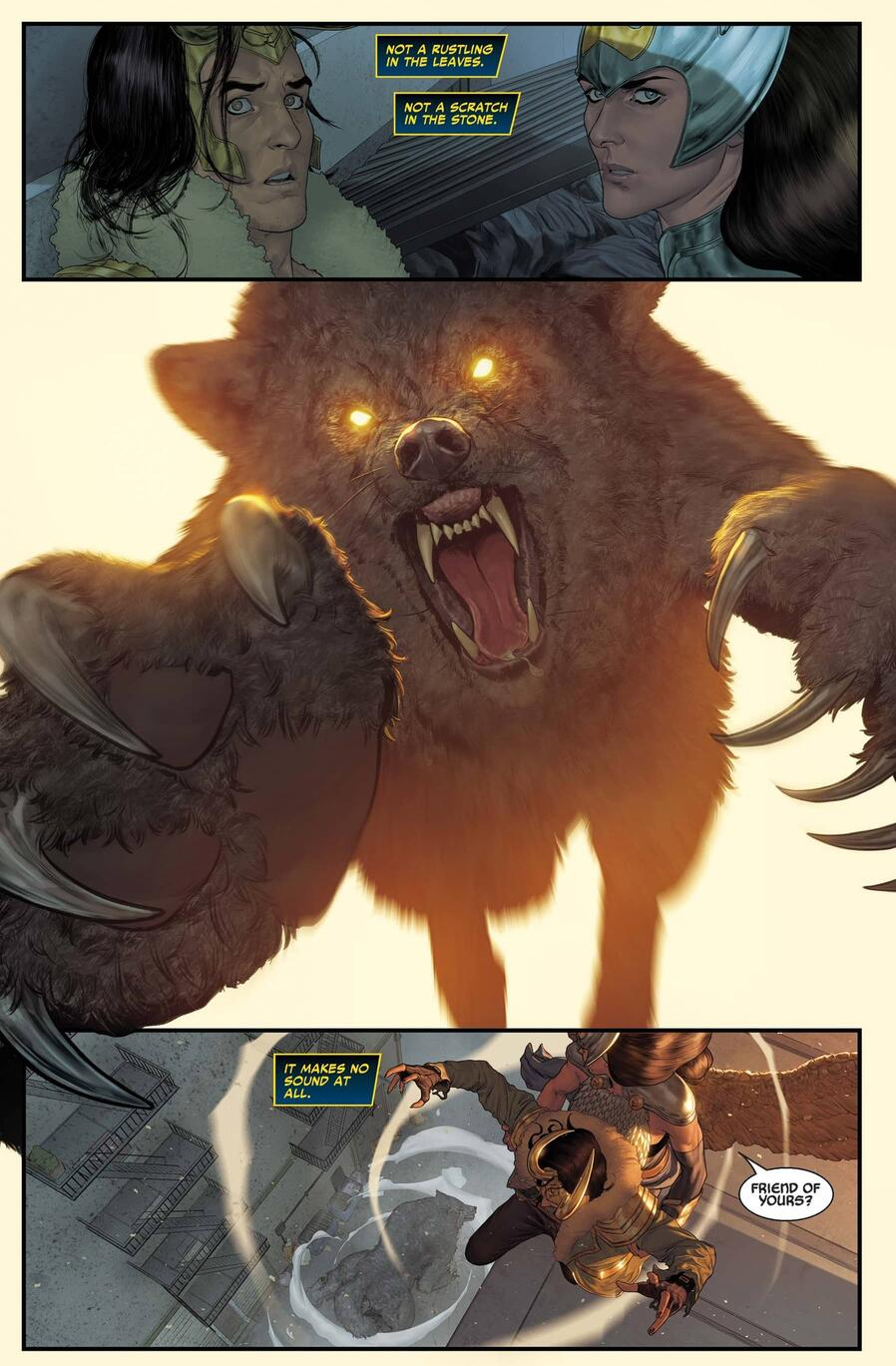 Loki and Jane Foster versus THE MIGHTY VALKYRIES (2021) #1