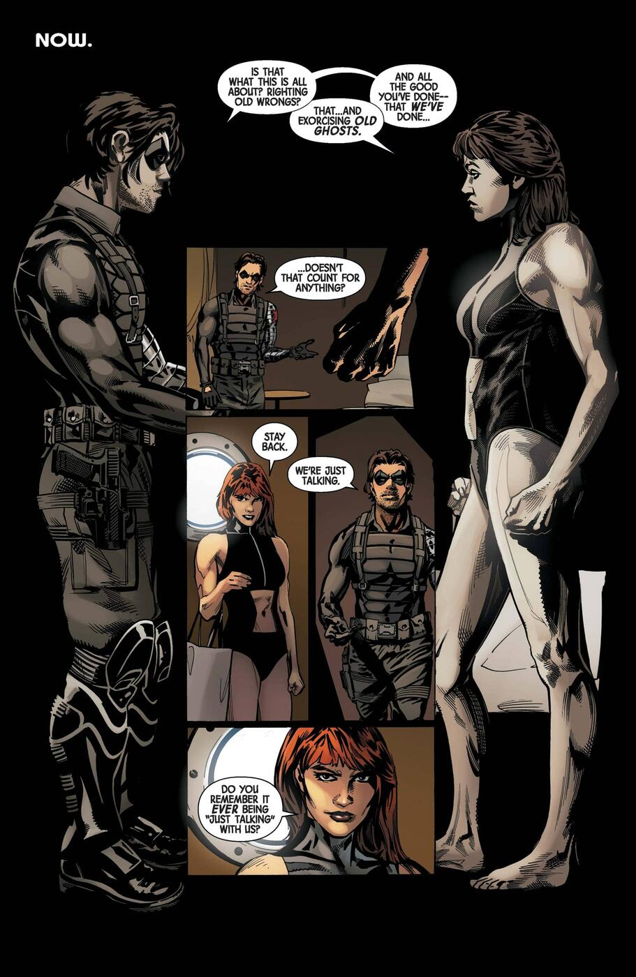 Black Widow/Winter Soldier