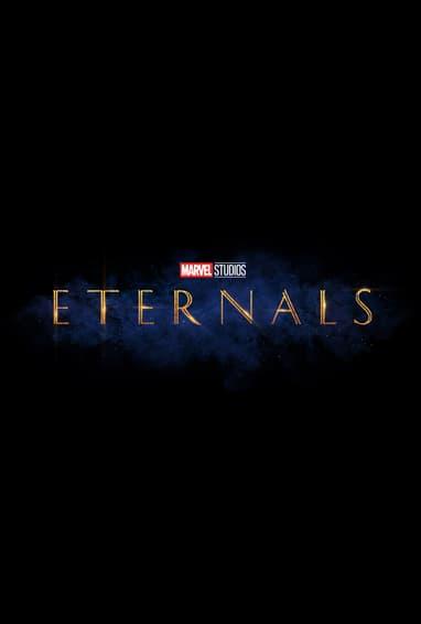 Eternals Movie Logo On Black