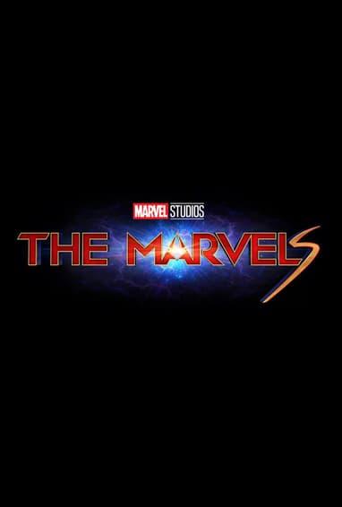 Marvel Studios' The Marvels Captain Marvel 2 Movie Logo on Black