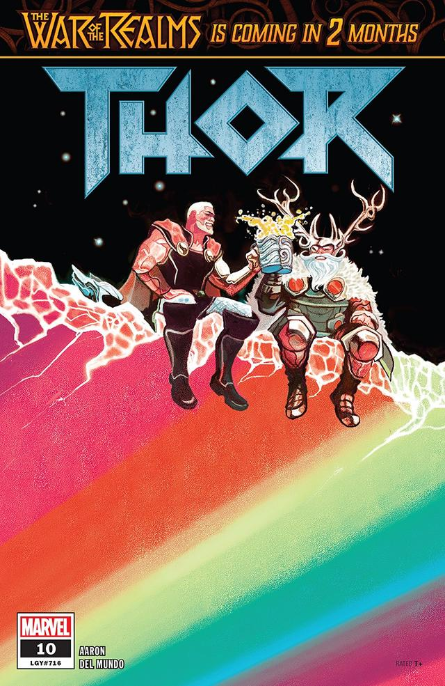 Cover of Thor #10