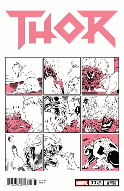 Thor Marvel Meow Variant