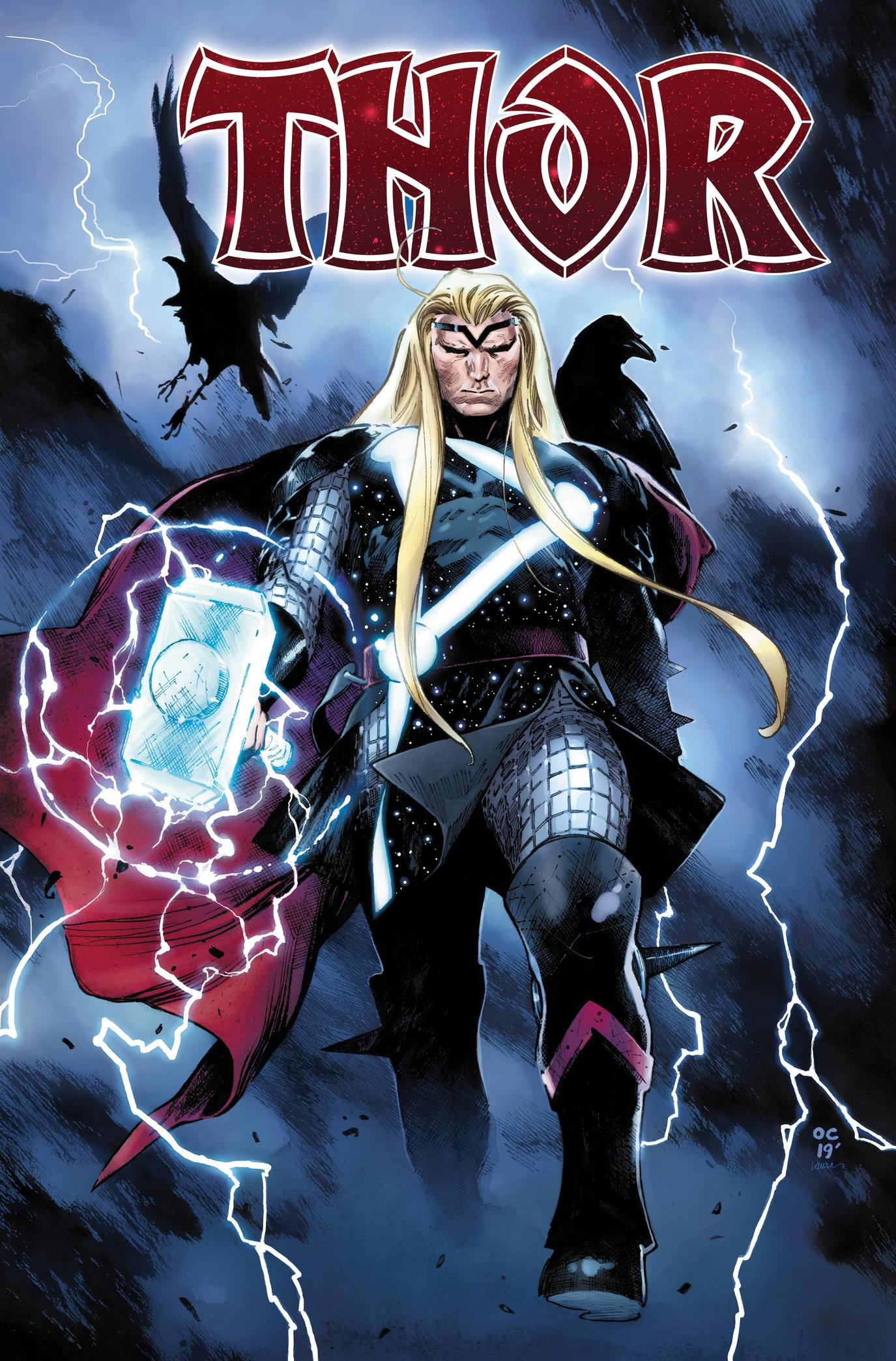 Cover art by Olivier Coipel with colors by Laura Martin
