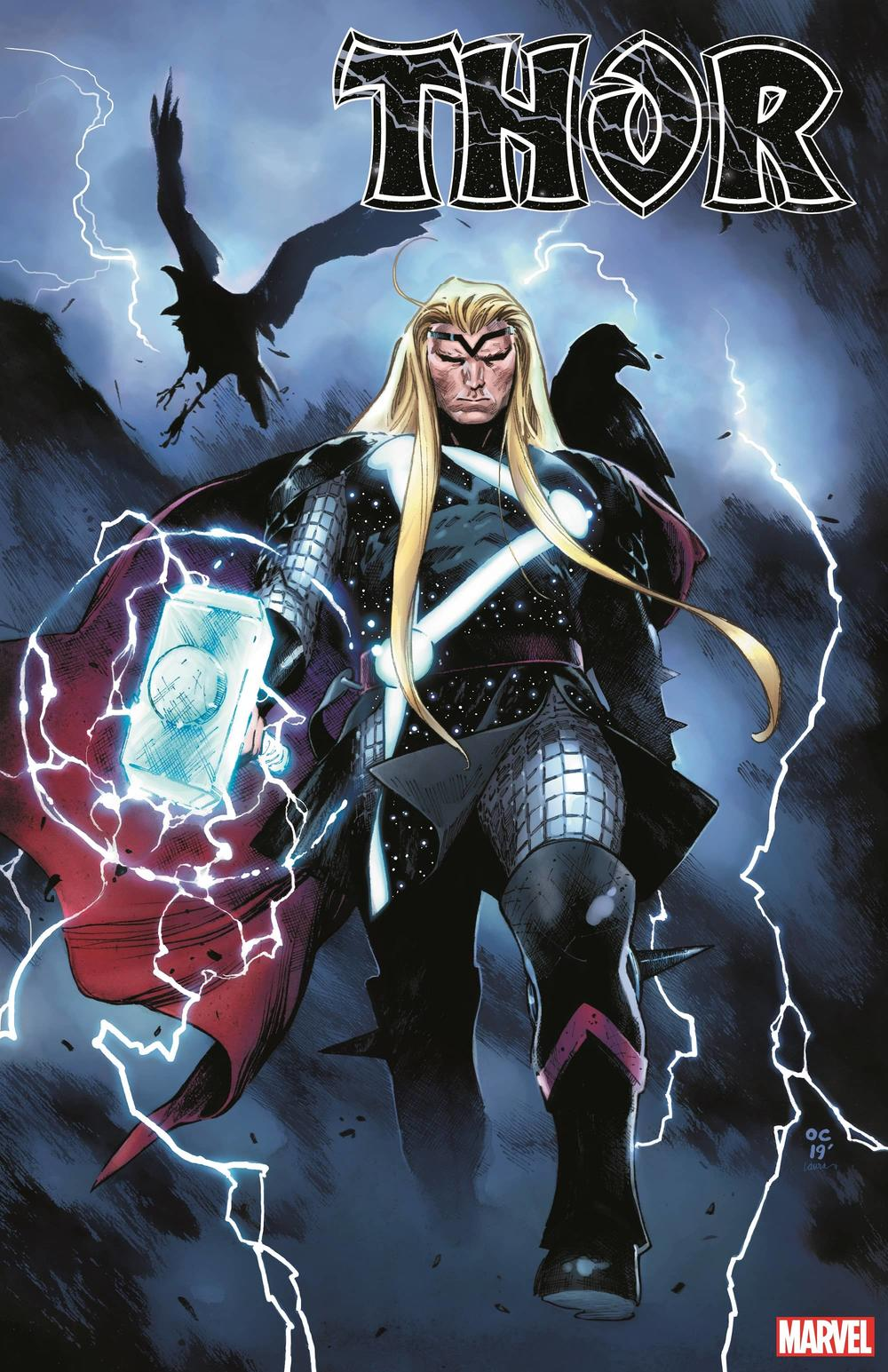 THOR #1 cover by Olivier Coipel and Laura Martin