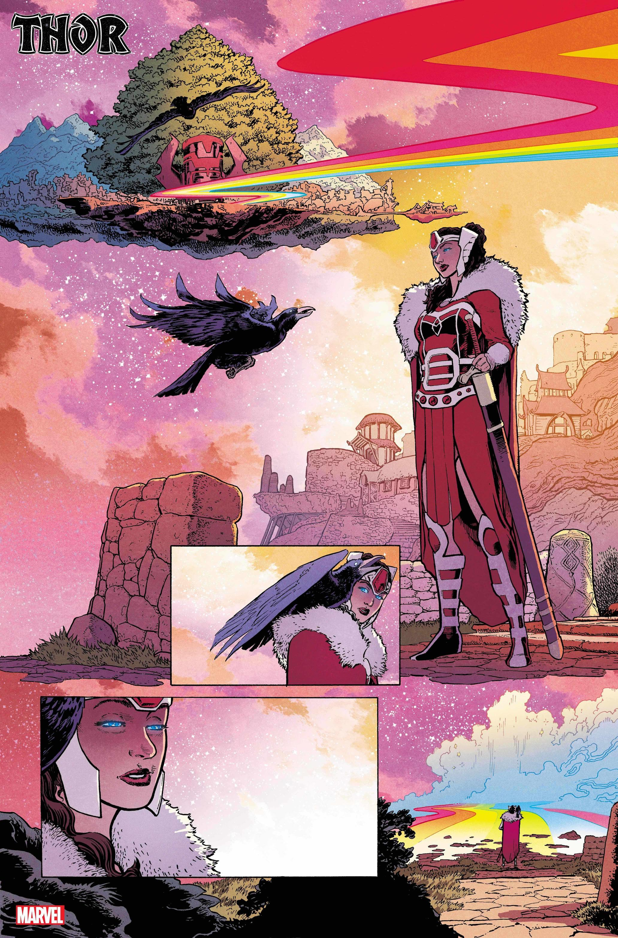 THOR #7 preview interiors by Aaron Kuder and Matt Wilson