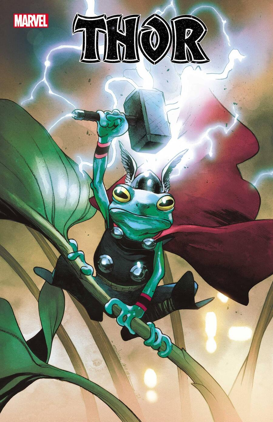 THOR #18 cover by Olivier Coipel