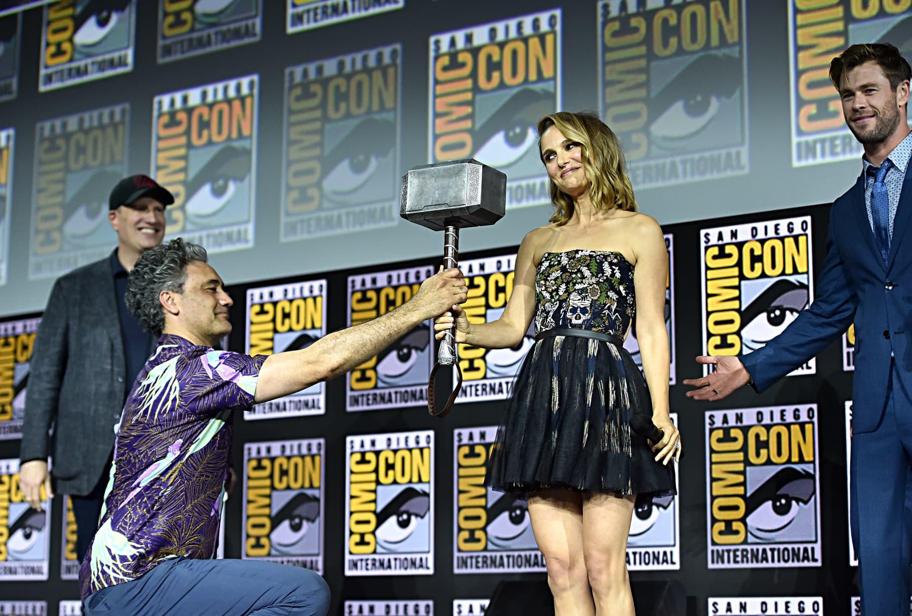 Taika Waititi Natalie Portman