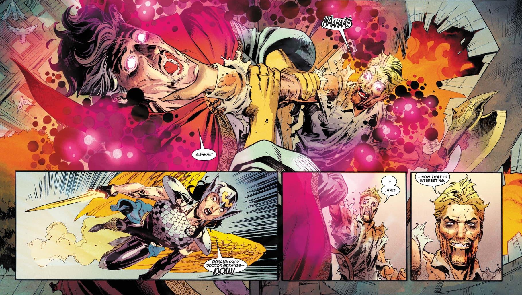 Donald Blake takes on Doctor Strange!