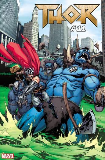 Thor #11 C2E2 variant