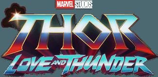 Marvel Studios Thor: Love and Thunder Thor 4 Movie Logo