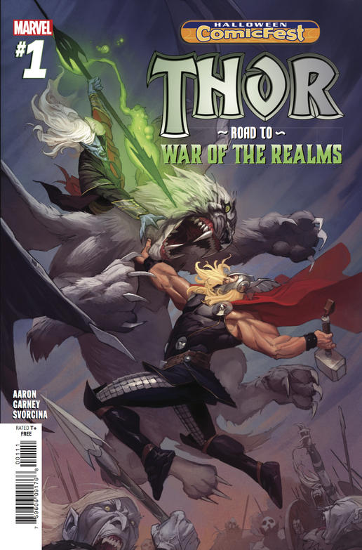 Thor: Road to the War of the Realms #1