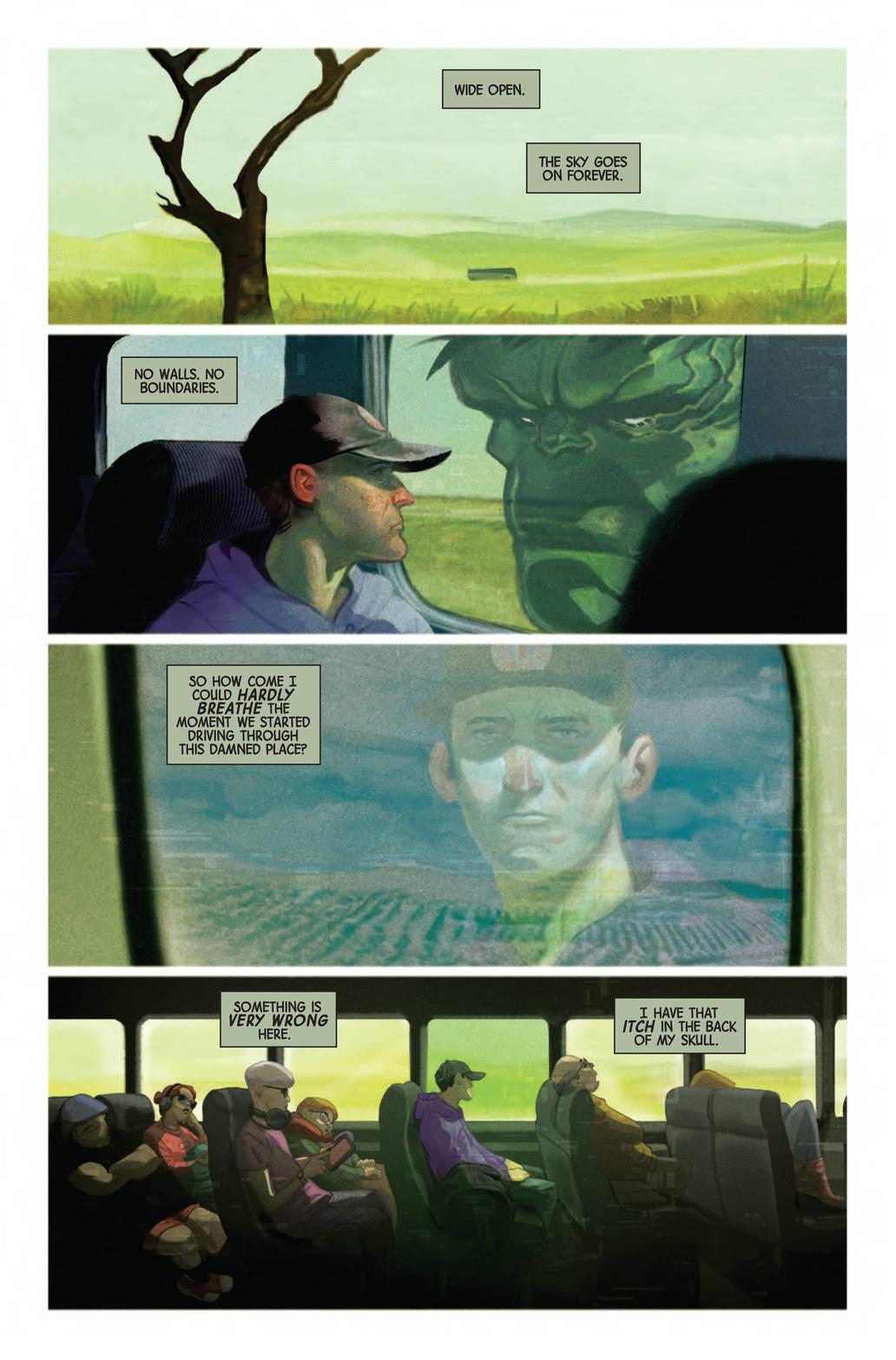 Immortal Hulk The Threshing Place