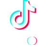TikTok Vertical Glitch Logo