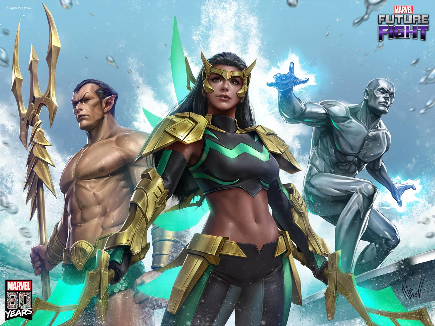 Filipina Super Hero Wave Joins Silver Surfer and Namor in 80th