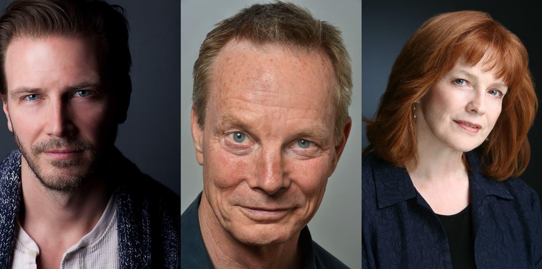 Bill Irwin, Bill Heck, and Blair Brown
