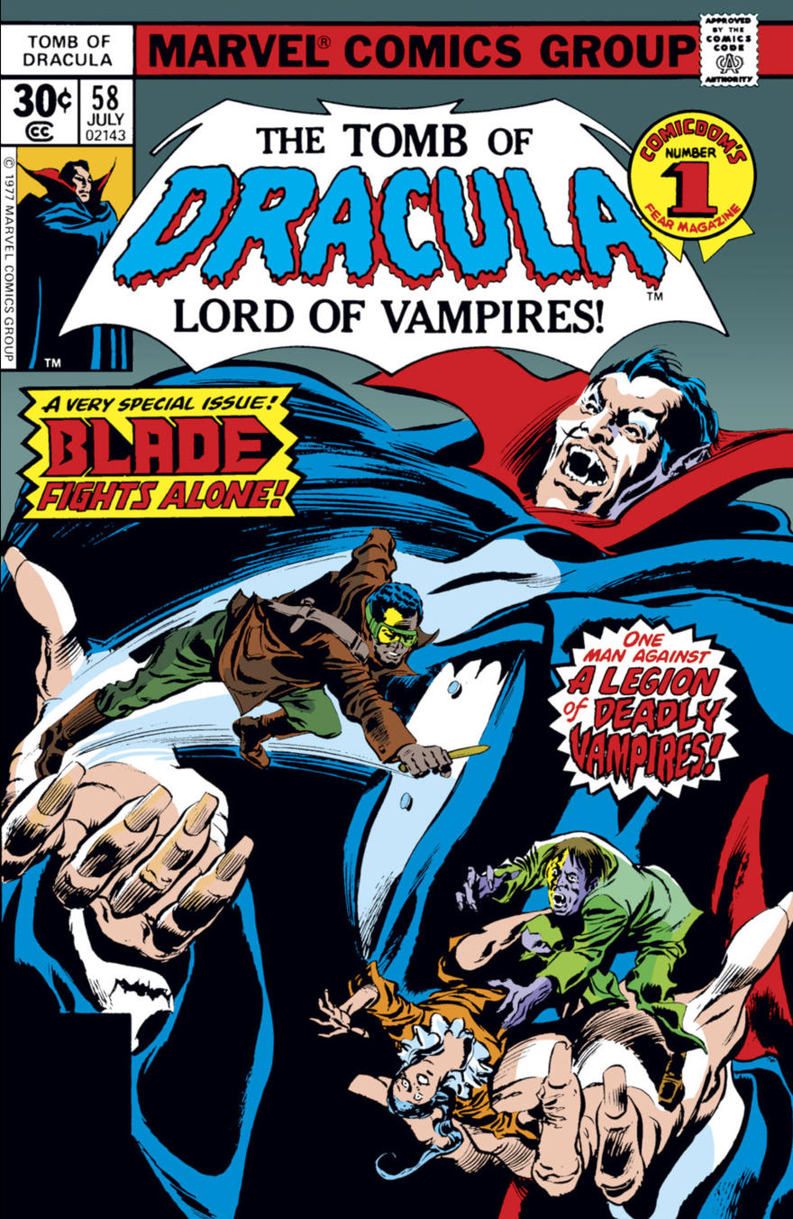 Tomb of Dracula 58 cover