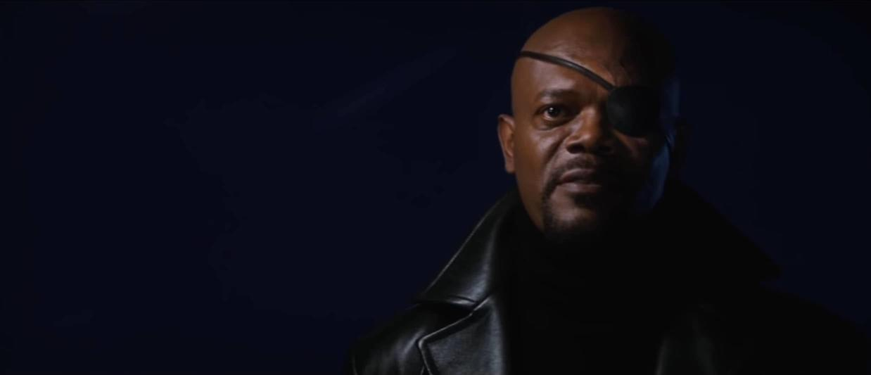 Tony Stark meets Nick Fury