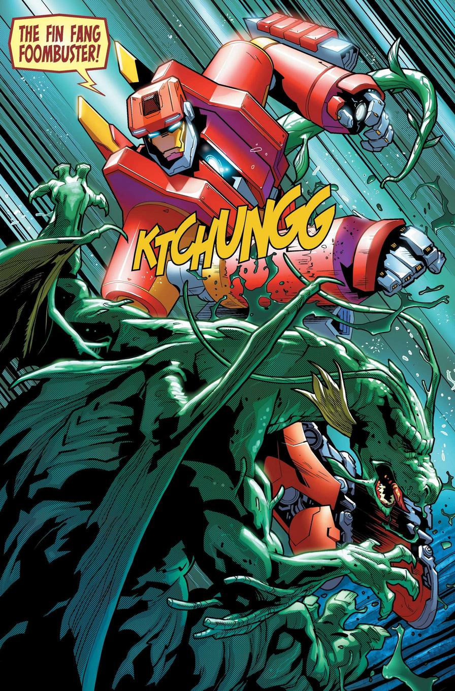 Fin Fang Foom Buster Iron Man armor