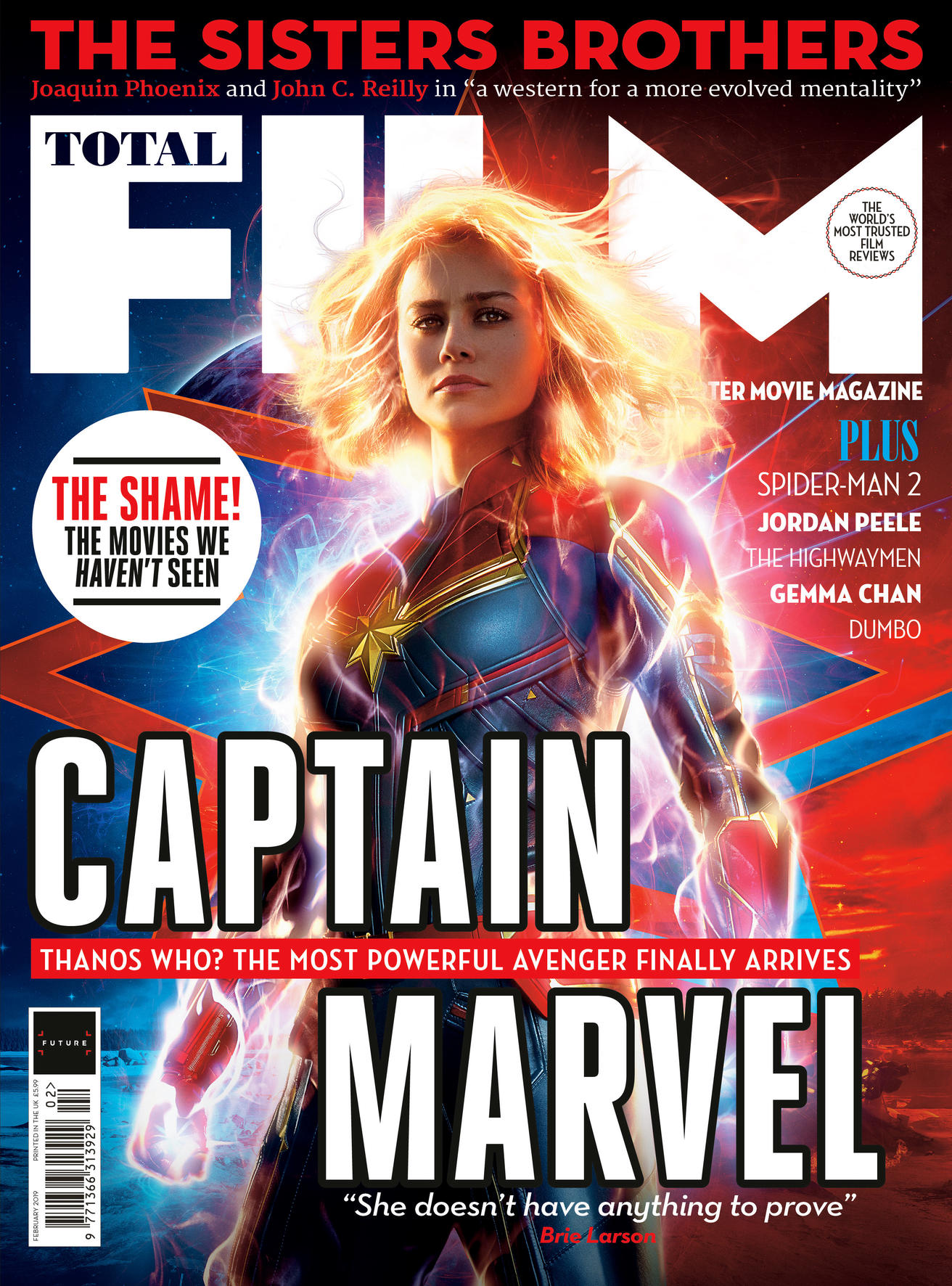 Total Film - Captain Marvel cover