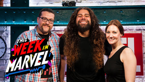 Claudio Sanchez with Ryan Penagos and Jamie Frevele