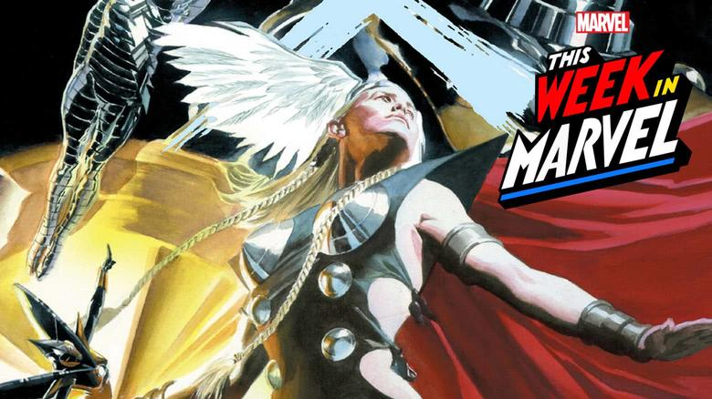 This Week in Marvel Earth X Alex Ross
